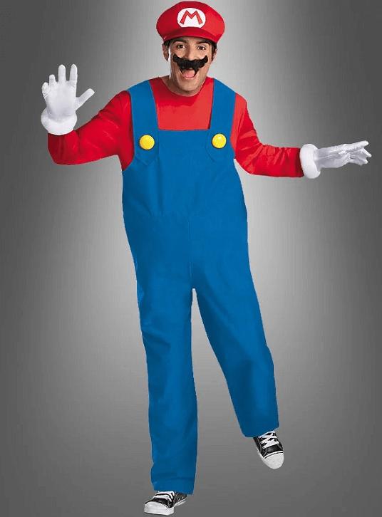 Super Mario Kostüm für Karneval, Fasching oder Halloween