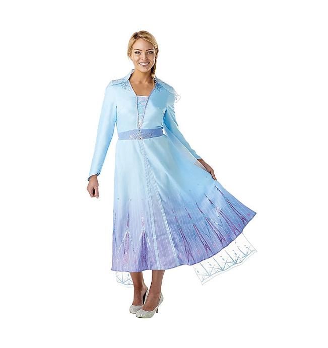 Karnevalkostüm als Elsa aus dem Disney Film die Eiskönigin 2