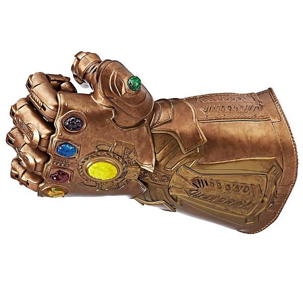 Interaktiver Thanos Handschuh aus dem Marvel Avengers Film Infinity Wars