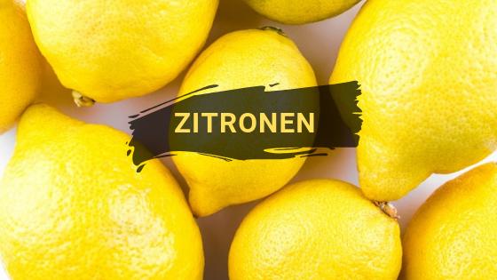 Einige Zitronen, die als DIY-Putzmittel für den Haushalt verwendet werden können.