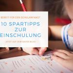Schulkind schreibt in Arbeitsheft