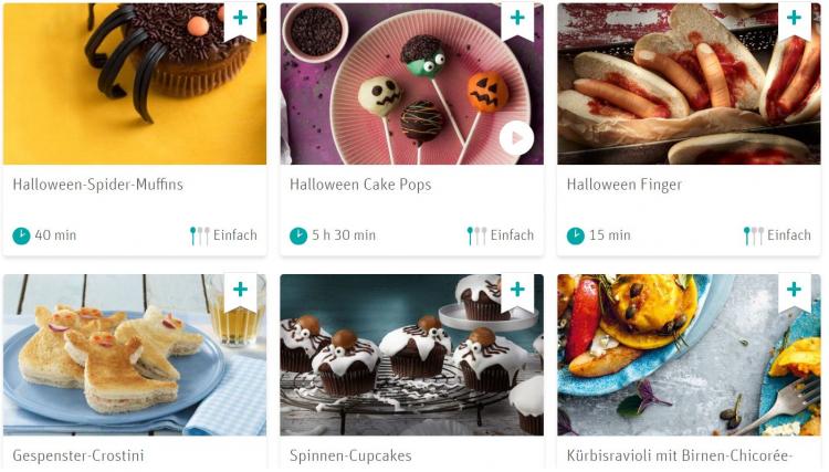 Rewe Rezepte für gruselige Halloween Snacks