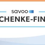 Winterlandschaft mit Überschrift zum interaktiven Geschenke Finder für Weihnachten von Savoo