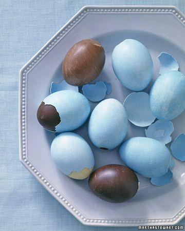 deco shell chocolate eggs
