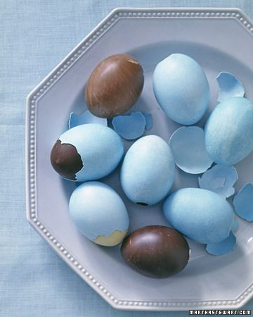 deco shell chocolate eggs
