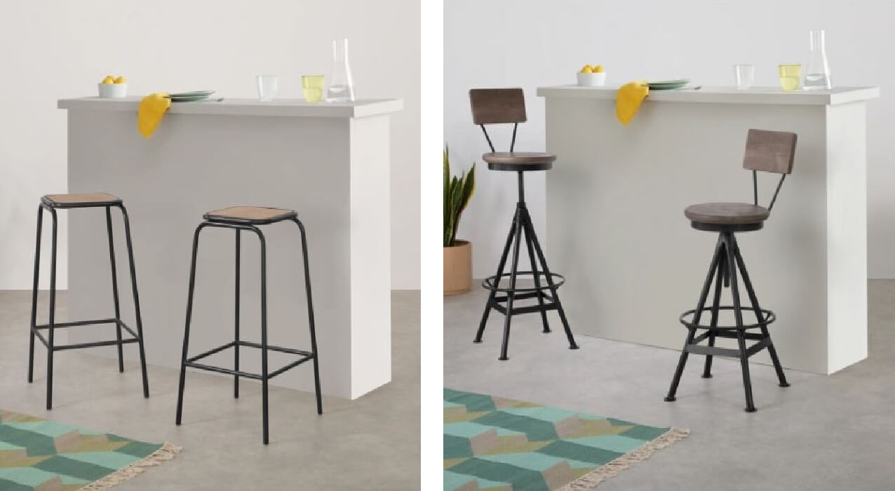 Soldes chaises et tabourets MADE