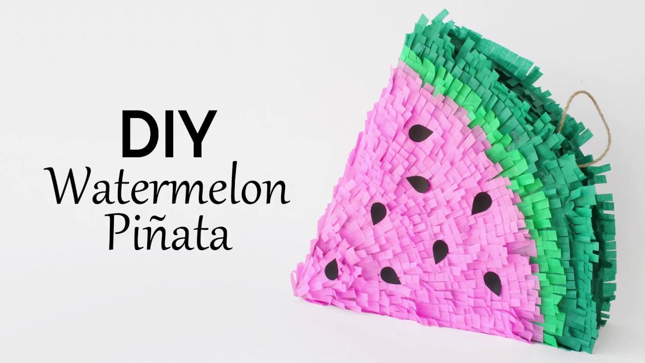 pinata_pasteque_DIY