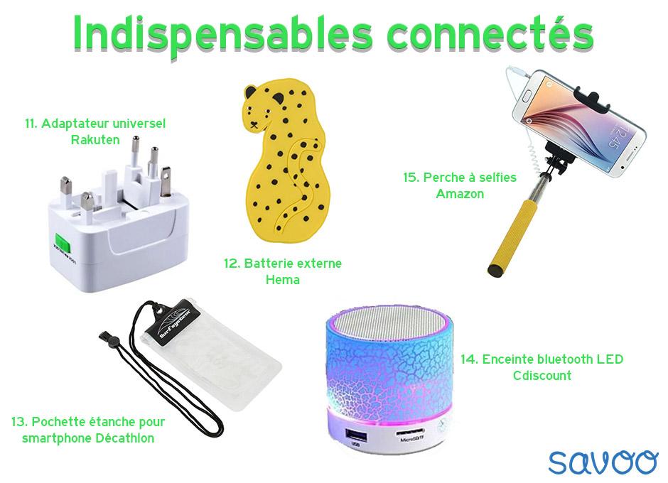Indispensables connectés - Savoo