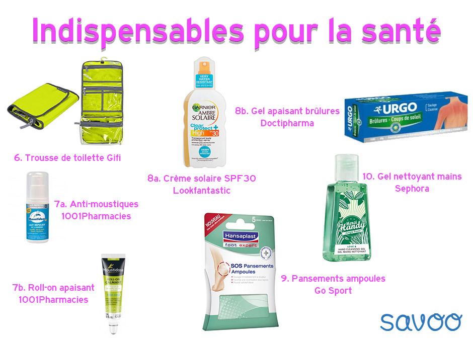 Indispensables santé - Savoo