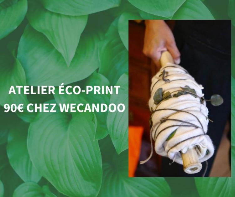 Atelier eco print Wecandoo