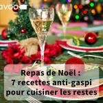 Couverture blog cuisiner les restes de repas de Noël Savoo