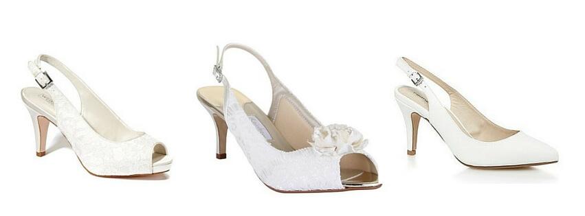 cheap wedding shoes slingback