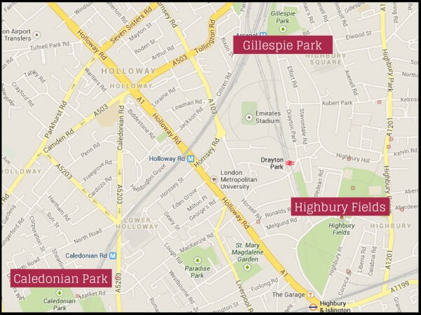 Islington-parks