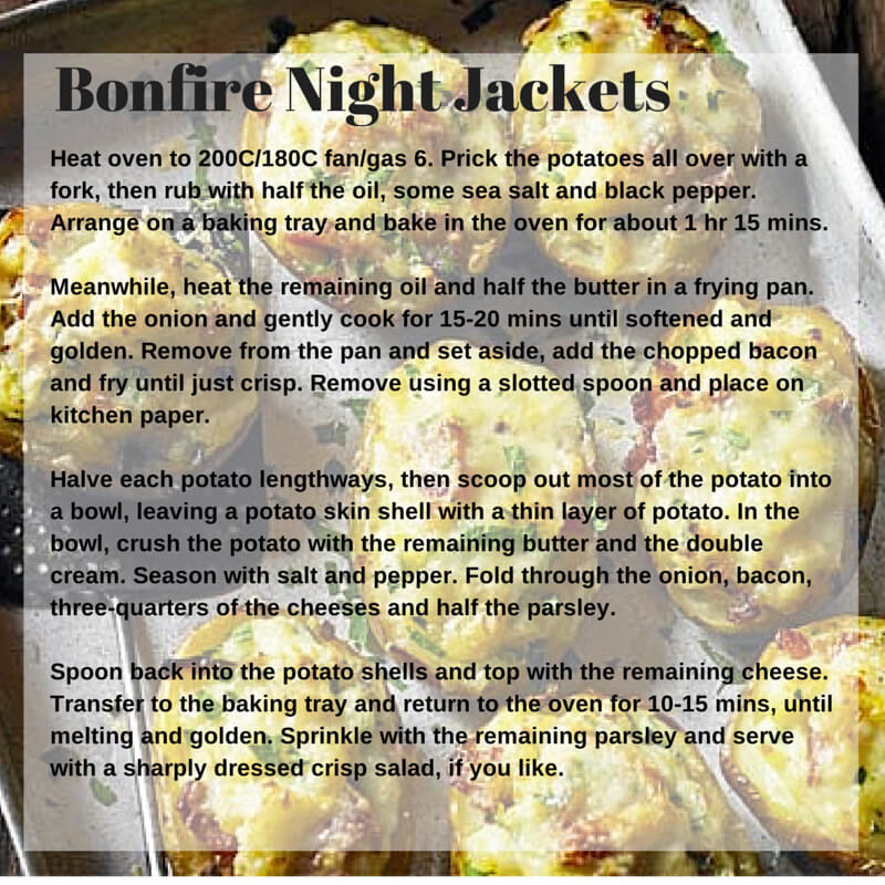 bonfire night jackets