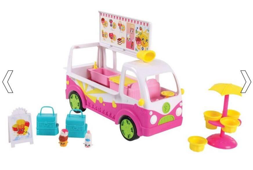 Shopkins Scoops Ice Cream Truck Playset