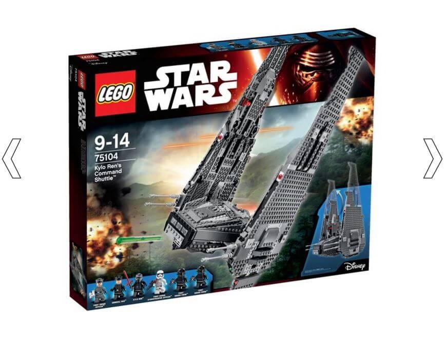 LEGO Star Wars Force Awakens Kylo Ren's Command Shuttle