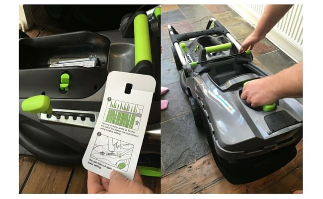 lawn mower assembly