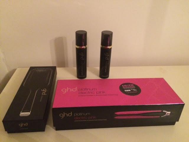 ghd hair straighteners packaging