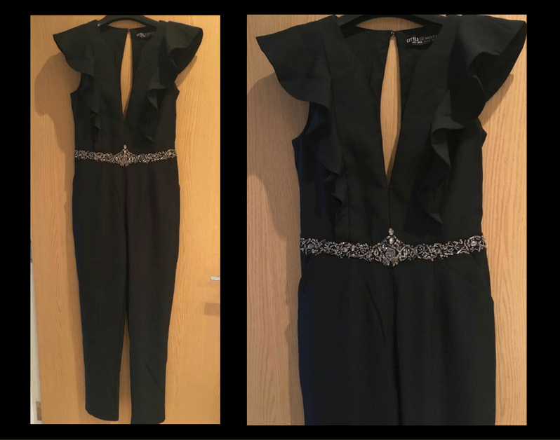 little black jumpsuit from little mistress