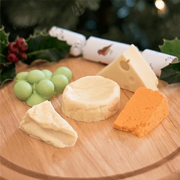 cheese chocolate christmas gift