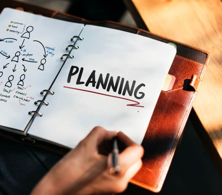 financial planning diary