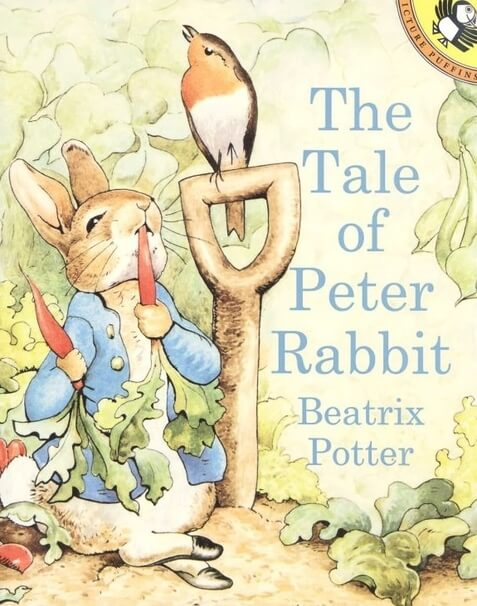 tale of peter rabbit beatrix potter book cover