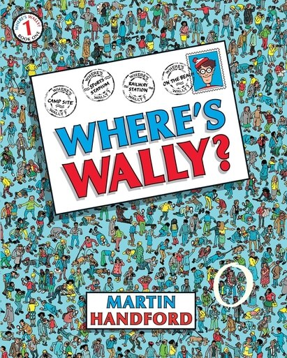 Where's Wally book cover