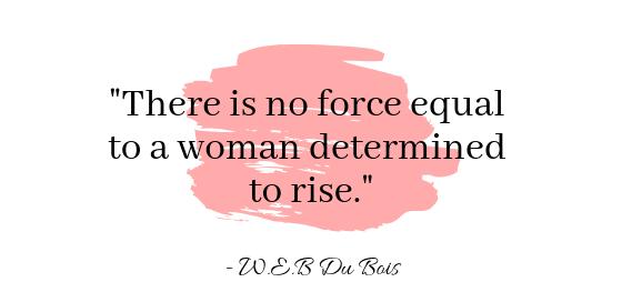 Inspiring womens quote