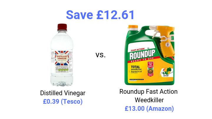 vinegar weedkiller price comparison savings
