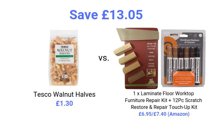 walnut furniture repair kit price comparison