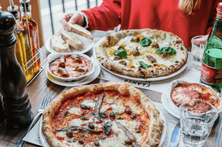 Franco Manca pizza