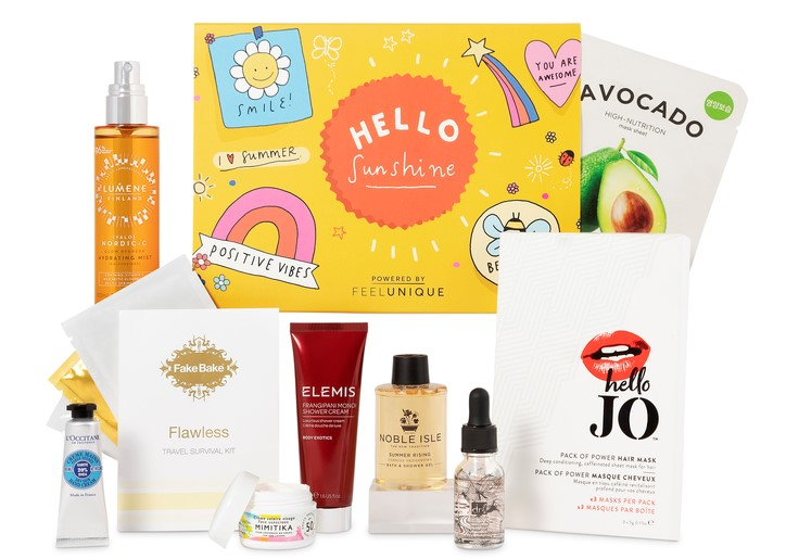 hello sunshine beauty products mental health