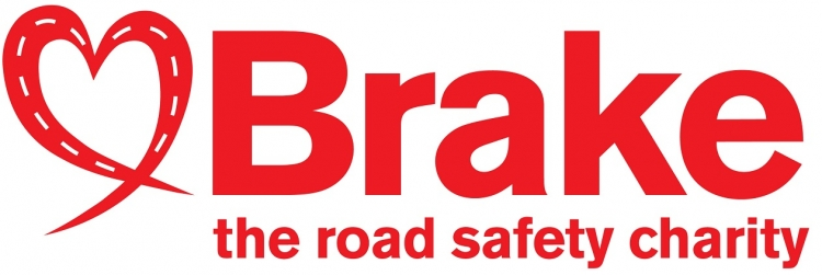 Brake road safety charity logo