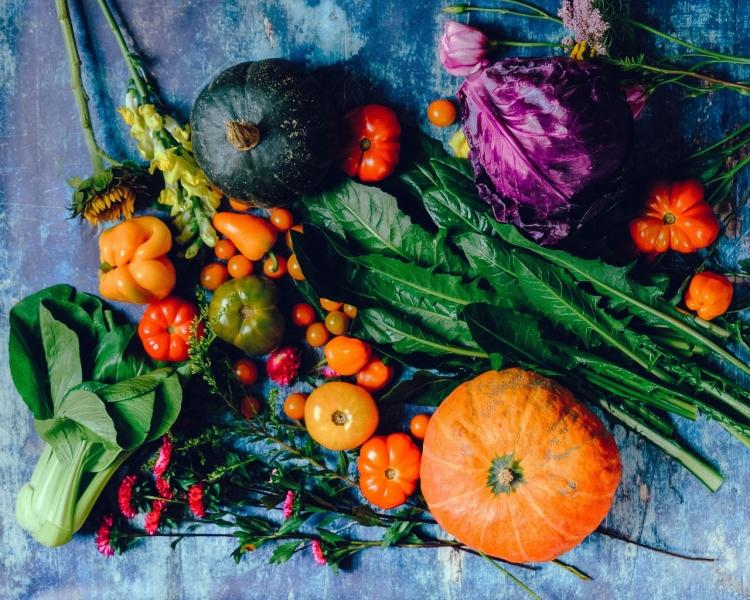 Assortment of fresh veg