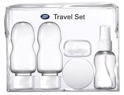 toiletries travel set