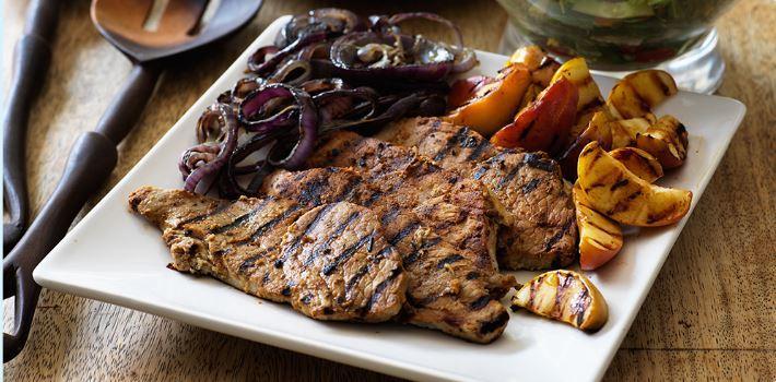 healthy pork steak