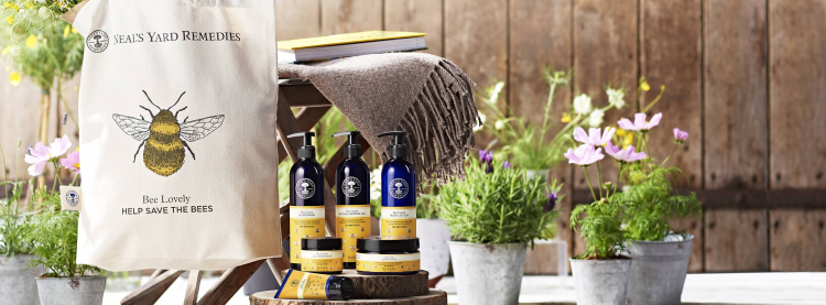 neals yard save the bees