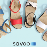 Marie Curie Savoo Hotter Shoes collaboration summer sandals