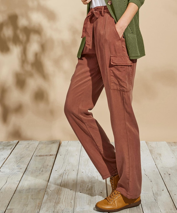 cargo trousers from Damart