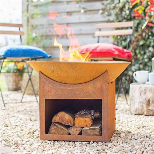 wickes fire pit