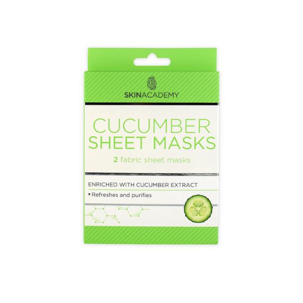 Cucumber face sheet mask
